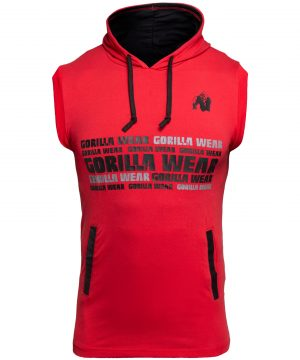 Fitness Vest Rood - Gorilla Wear Melbourne 1