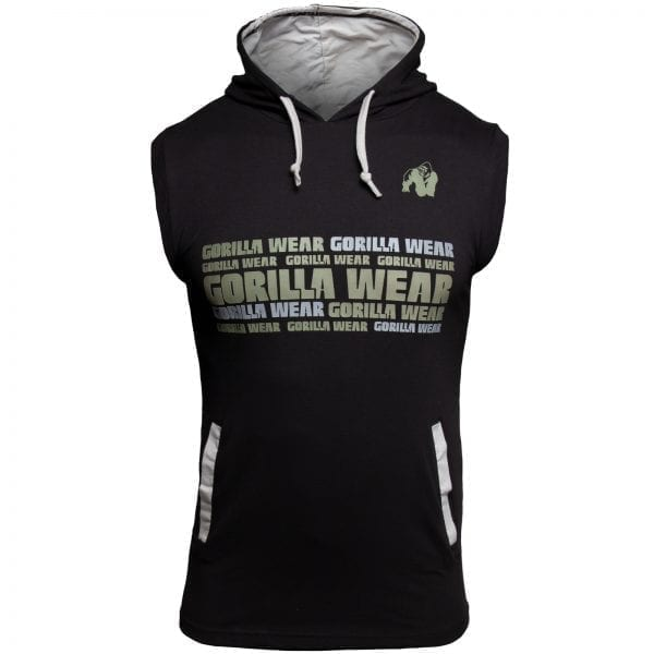 Fitness Vest Zwart - Gorilla Wear Melbourne 1