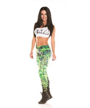 Sportlegging Print Dames.Nebbia Art Collection 883 Sportlegging Dames Disco