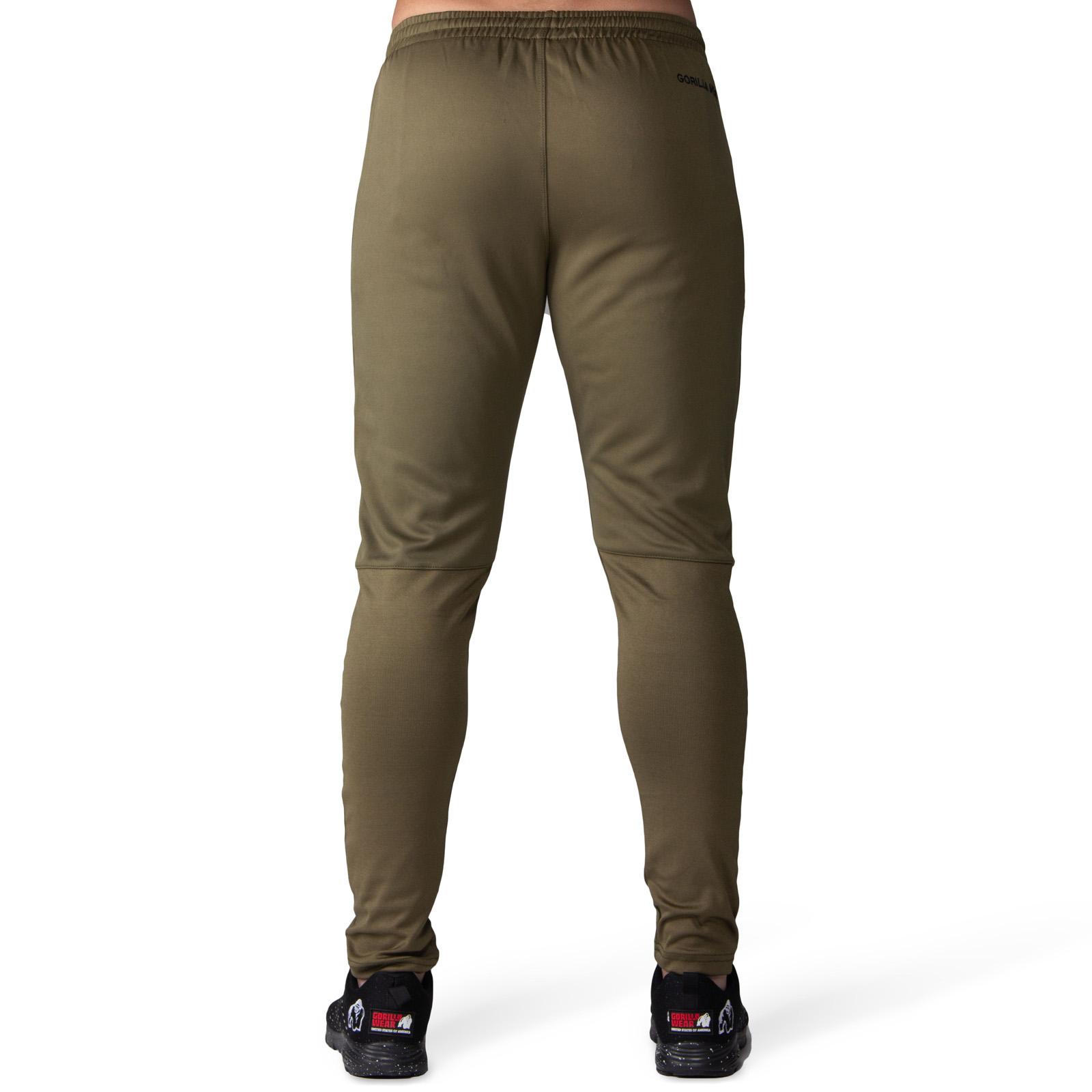 Fitness Broek Heren Groen Gorilla Wear Ballinger