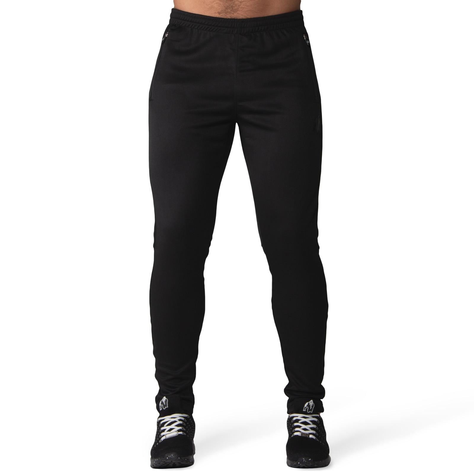 Fitness Broek Heren Zwart Gorilla Wear Ballinger