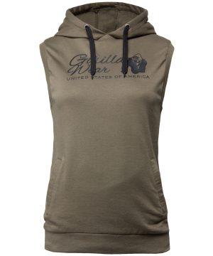 7d5ba8716be Fitness T-shirt Zwart Zilver - Gorilla Wear Luka ...