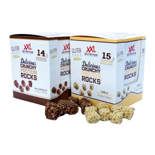 Delicious Crunchy Protein Rocks