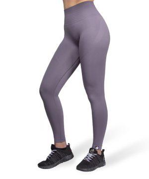 Fitnesslegging Dames Grijs Seamless - Gorilla Wear Yava 1