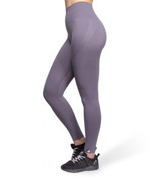 Fitnesslegging Dames Grijs Seamless - Gorilla Wear Yava 2