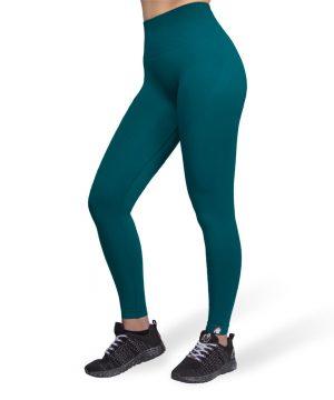 Fitnesslegging Dames Groen Seamless - Gorilla Wear Yava 1