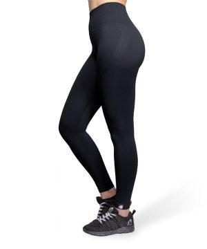 Fitnesslegging Dames Zwart Seamless - Gorilla Wear Yava 2