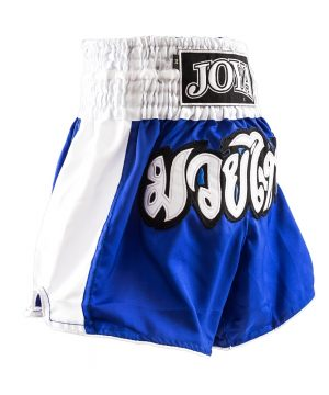 Joya Junior Kickboksbroek Blauw Wit
