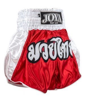 Joya Junior Kickboksbroek Rood Wit